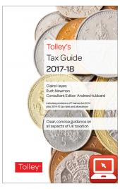 TolleyLibrary Light Tolley's Tax Guide 2017 and Print cover