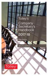 Tolley's Company Secretary's Handbook 27th edition cover