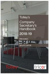 Tolley's Company Secretary's Handbook 28th edition cover