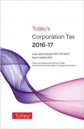 Tolley's Corporation Tax 2016-17 Budget Edition & Main Annual cover