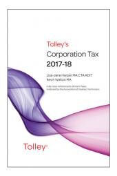 Tolley's Corporation Tax 2017-18 Budget Edition & Main Annual cover