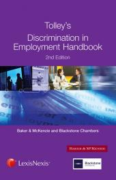 Tolley's Discrimination in Employment Handbook Second edition cover