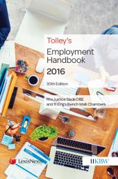 Tolley's Employment Handbook 30ed (Print and eBook) cover