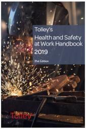 Tolley's Health & Safety at Work Handbook 2019 31st edition cover