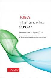 Tolley's Inheritance Tax 2016-17 (Print and eBook) cover