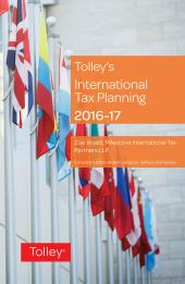Tolley's International Tax Planning 2016-17 cover