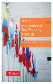 Tolley's International Tax Planning 2017-18 cover