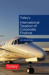 Tolley's International Taxation of Corporate Finance cover