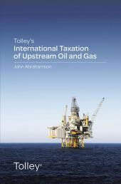 Tolley's International Taxation of Upstream Oil and Gas cover