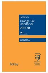 Tolley's Orange Tax Handbook 2017-18 cover