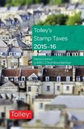 Tolley's Stamp Taxes 2016-17 cover