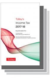 Tolley's Tax Annuals Premium Set 2017-18 cover