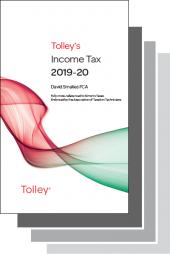 Tolley's Tax Annuals Premium Set 2019-20 cover