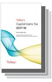 Tolley's Tax Annuals Set 2017-2018 (Main Works Only) cover