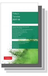 Tolley's Taxwise I & II 2017-18 Set cover