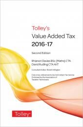 Tolley's Value Added Tax 2016 (Print and eBook) cover