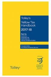 Tolley's Yellow Tax Handbook 2017-18 cover