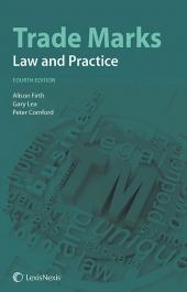 Trade Marks: Law and Practice Fourth edition cover