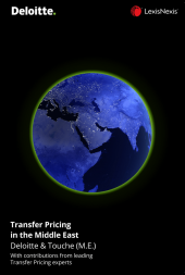 Transfer Pricing in the Middle East cover