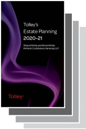 Tolley's Tax Planning Series 2020-2021 cover