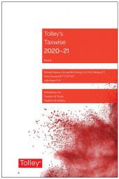 Tolley's Taxwise II 2020-21 cover