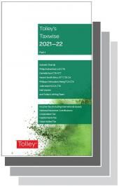 Tolley's Taxwise I & II 2021-22 Set cover
