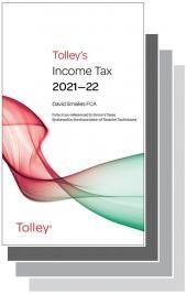 Tolley's Tax Annuals Premium Set 2021-22 cover