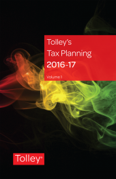 Tolley's Tax Planning 2016 eBook cover