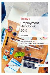 Tolley's Employment Handbook 31ed (Print and eBook) cover
