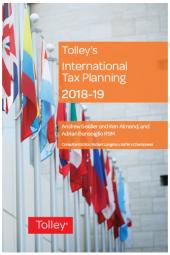 Tolley's International Tax Planning 2018-19 cover