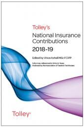 Tolley's National Insurance Contributions 2018-19 Main Annual cover