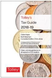 Tolley's Tax Guide 2018-19 cover