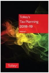 Tolley's Tax Planning 2018-19 cover