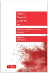 Tolley's Taxwise II 2018-19 cover