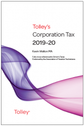 Tolley's Corporation Tax 2019-20 Main Annual cover