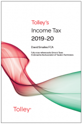 Tolley's Income Tax 2019-20 Main Annual cover