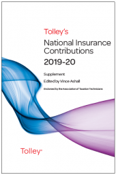TolleyLibrary Light Tolley's National Insurance Contributions 2019 and Print cover