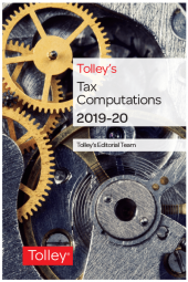 Tolley's Tax Computations 2019-20 cover