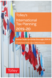 Tolley's International Tax Planning 2019-20 cover