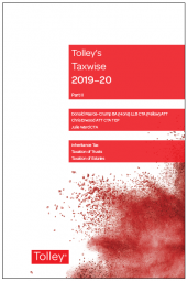 Tolley's Taxwise II 2019-20 cover