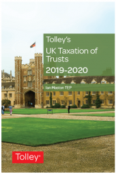 Tolley's UK Taxation of Trusts 2019-2020 cover