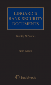 Lingard's Bank Security Documents Sixth edition (including CD) cover