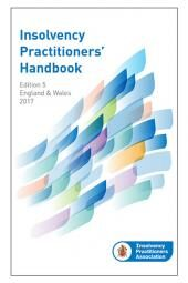 Insolvency Practitioners Handbook Fifth edition (Print and eBook) cover