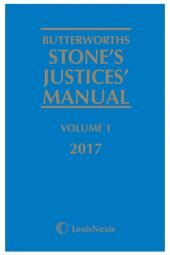 Butterworths Stone's Justices' Manual 2017 eBook cover