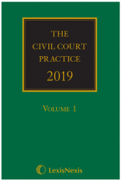 The Civil Court Practice 2019 (The Green Book)(Hardcopy, CD & eBook) cover