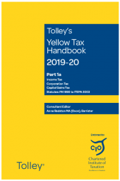 Tolley's Yellow Tax Handbook 2019-20 cover