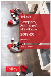 Tolley's Company Secretary's Handbook 29th edition cover