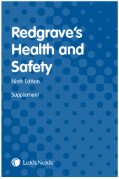 Redgrave's Health and Safety Ninth edition Supplement cover
