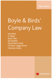 Boyle & Birds' Company Law Tenth edition cover