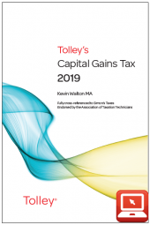 TolleyLibrary Light Tolley's Capital Gains Tax 2019 and Print cover